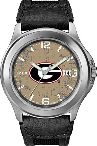 Timex Men's Georgia Bulldogs UGA Watch Old School Vintage Watch ()