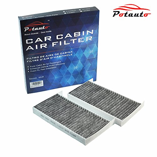 POTAUTO MAP 2013C Heavy Activated Carbon Car Cabin Air Filter Replacement compatible with NISSAN, Quest