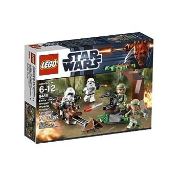 LEGO Star Wars Endor Rebel Trooper and Imperial Trooper 9489