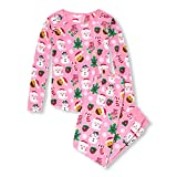 The Children's Place Women's Adult Christmas Pajama Onesie, Pink Icing, XS