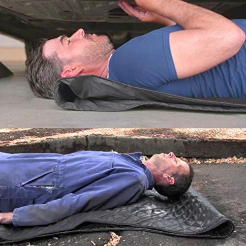 Huikai Magic Automotive Creeper Pad Repair Creepers Rolling Pad For Working On The Ground Black by Huikai (Image #2)