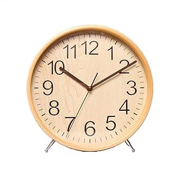 HDOUBR Reloj Minimalista de sobremesa Moderno Reloj de sobremesa Reloj de Sala decoración de péndulo de