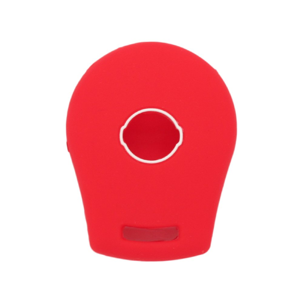 SEGADEN Silicone Cover Protector Case Skin Jacket fit for NISSAN 3 Button Remote Key Fob CV2506 White
