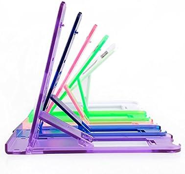 XIZHES Gimnasio bipedestador Universal de Colorido para el iPad 1/2/3/4 / Aire/Mini (Colores Surtidos), Purple