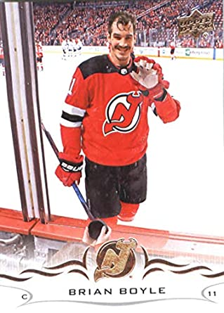 Amazon.com  Hockey NHL 2018-19 Upper Deck  108 Brian Boyle NJ Devils ... 6822f0154
