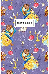 """Notebook: Princess Theme Pattern - Beautiful Design: 5.5"""" x 8.5"""" lined pages. Great for note-taking/Composition/Writing/Planning/Diary/Gift Paperback"""