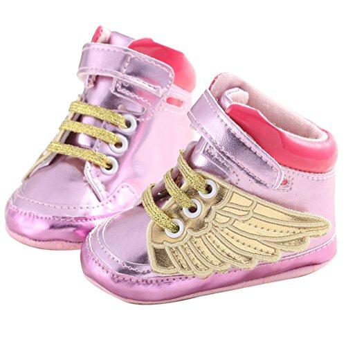 samber alas doradas para zapatos para caminar primera plateado plata Talla:13 rosa