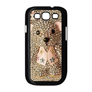 Custom Cover Case with Hard Shell Protection for Samsung Galaxy S3 I9300 case with Cute cartoon bear lxa#979263 by icecream design