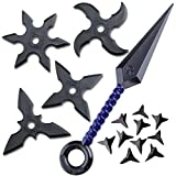 Rubber Toy Throwing Star Set