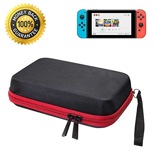 Nintendo Wii Sd Card Compatibility (Fantany Deluxe Hardshell Travel Carrying Case for Nintendo Switch, with Premium Game Cartridge Holder and Soft Inner Protect design Protective Storage Bag)