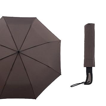 Paraguas reversible resistente al viento con mango en forma de C, mujer, S3511PM-