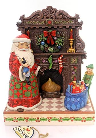 Heartwood Creek Jim Shore Masterpiece Delivering Toys and Christmas Joys Santa Figurine 4055047