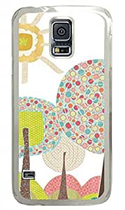 iCustomonline Hand-drawn Painting Case for Samsung Galaxy S5 I9600 PC Transparent by runtopwell