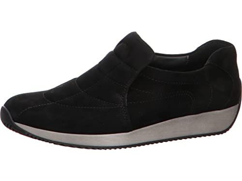 99951dcb7505 ARA Damen Slipper LISSABON 1244029-38 schwarz 492902  Amazon.de ...
