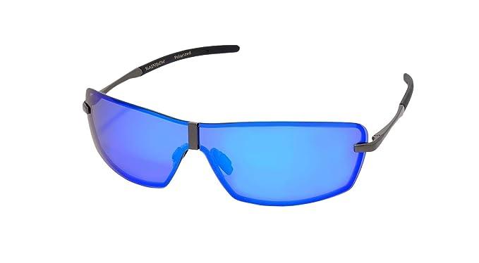 rainbow safety Hombres Gafas de Sol Visión Nocturna Polarizadas Marco Al-Mg RWNP3