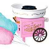 Krevia Vintage Hard And Sugar-Free Cotton Candy Maker (Pink And White)