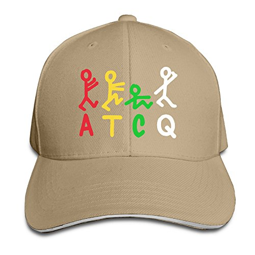 Wow Christmas Quests - Logon 8 ATCQ Tribe Logo Personalize Baseball Cap Natural One Size