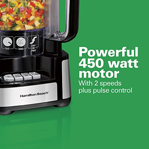 12 Cup Stack And Snap Food Processor 70725a By Hamilton Beach At
