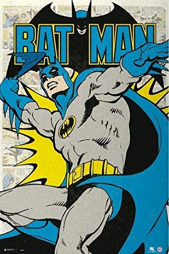 95bf11bb1c Amazon.com  DC Comics - Batman - Vintage 24x36 Poster  Posters   Prints
