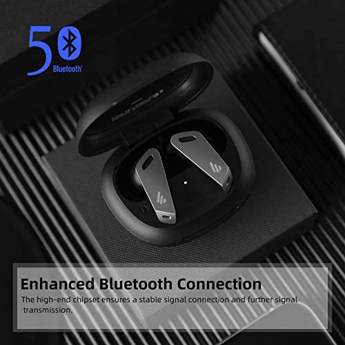 Edifier Active Noise Cancelling Wireless Earbuds TWS NB2 Bluetooth 5.0 Headphones ANC in-Ear Earbuds with Charging Case,32hrs Playback for iPhone and Android
