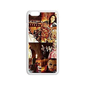 "Mysterious Picture external from Phantom of the Opera Custom Design Hard Plastic Case unwanted Cover with Image for iPhone operation 6 Plus the 5.5"" -White031207"