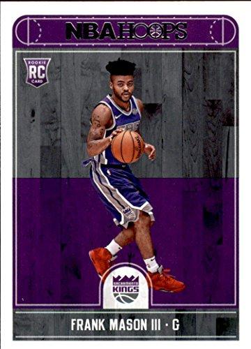 2017-18 Panini Hoops #284 Frank Mason III Sacramento Kings Rookie Basketball Card