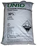 Potassium Hydroxide (Caustic Potash) [KOH] [CAS_1310-58-3] 90+% FCC/ Food Grade, White Flake (55.12 Lbs Bag) sold by Wintersun Chemical