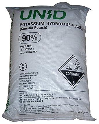 Potassium hydroxide косметика