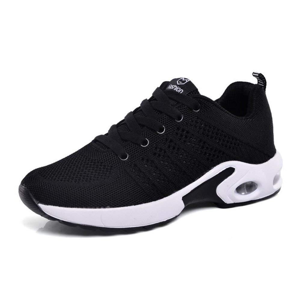 HhGold Laufende Schuhe der Frauen Stoß-Leichtgewicht-Plattform-gehende Schuhe Breathable Eignungs-Turnschuhe schnüren Sich Oben Sport-Schuhe (Farbe   B Größe   40) (Farbe   D Größe   39)