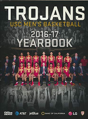 Trojans USC Men's Basketball 2016-17 Yearbook