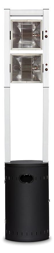 Enders Estufa Gas, Ecoline Pure, Negro/Aluminio, 45 x 42 x 213