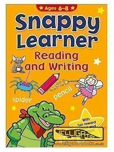 Snappy Learner: 'Reading And Writing' Mit Lustiger Belohnungs Tabelle & Stickern (Buchstabieren Lernen Hilft Bei Kinder Entwicklung)