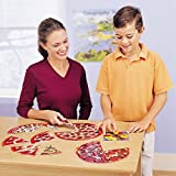 Learning Resources Pizza Fraction Fun Game, 13