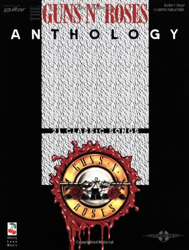 Guns N' Roses Anthology (Tablature Included) - Guns N Roses Tab Book