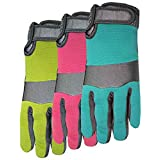 MIDWEST QUALITY GLOVES 149D4-M Synthetic Palm Glove with Spandex Back