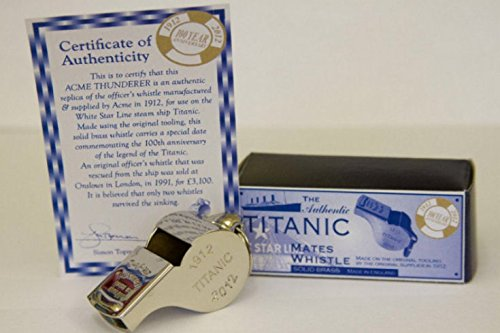 Acme Thunderer Titanic Commemorating 100 Years of the Titanic