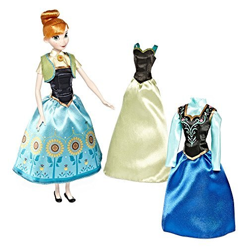 Disney Collection Anna Wardrobe Doll Set (Wardrobe Farm)