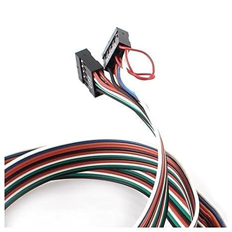 Delantero USB Puerto - TOOGOO(R) PC ordenador USB Puerto De Audio Auricular Microfono Panel Frontal Soporte Cable: Amazon.es: Electrónica