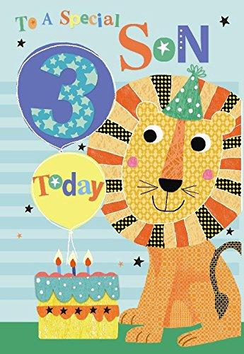 Tarjeta de felicitación de cumpleaños con diseño de Globo de ...