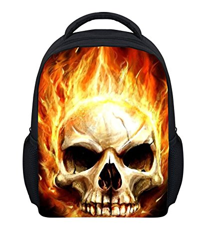 Animal Skull Bookbag Print Backpack School Bag Daypack for girls Boy Teens Children