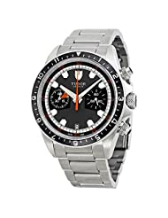 Tudor Heritage Chrono Grey Dial Stainless Steel Mens Watch 70330N-GYSS