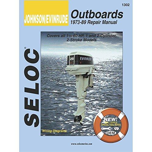 Seloc Service Manual - Johnson/Evinrude - Outboard - 1973-89 - 1-2 Cyl 1989 Outboard Repair Manual