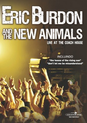 Amazon com: Eric Burdon and the New Animals: Live at the Coach House