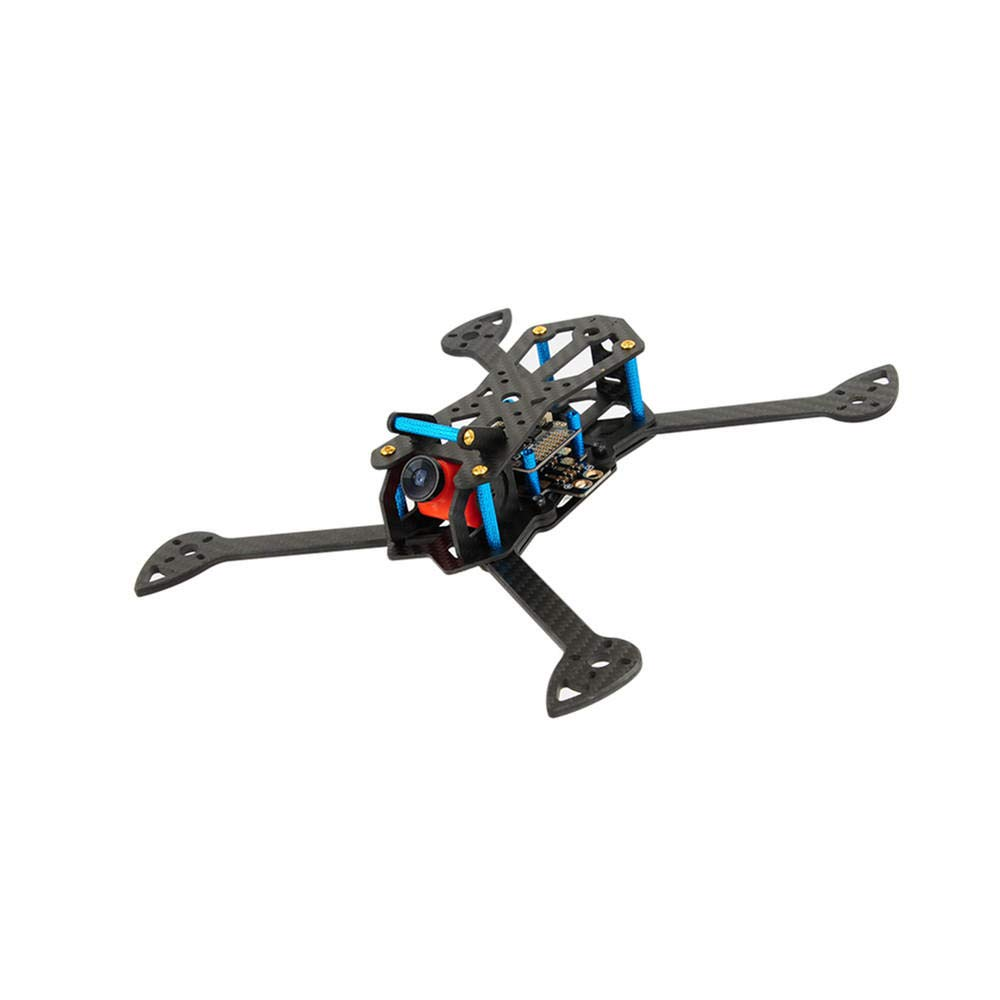 TechnQ TINSLY-H60 Kit de Marco de Fibra de Carbono de 265 mm para dron RC FPV Racing