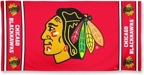 NHL Chicago Blackhawks Fiber Reactive Beach Towel