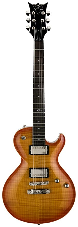 DBZ guitarras Bolero FM Guitarra eléctrica, Honeyburst: Amazon.es ...
