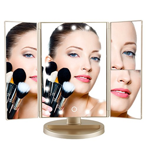 DeWEISN Tri Fold Magnification Tabletop Cosmetic product image