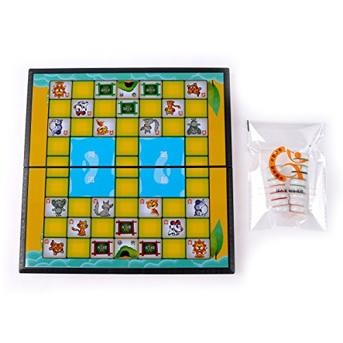 - Dou Shou Qi - Jungle / Chinese Animal Chess - Travel Magnetic Set