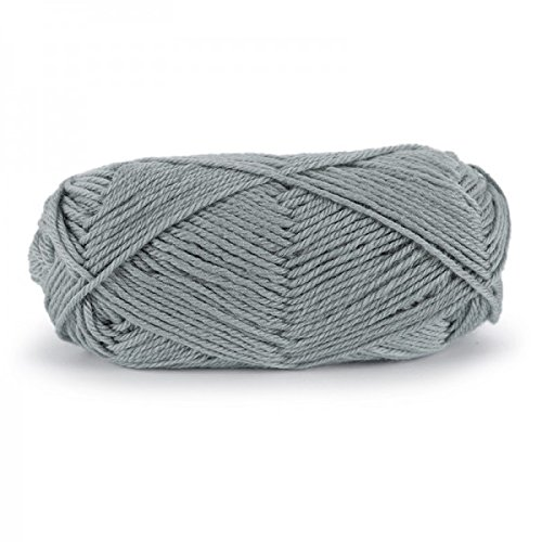 (Dale Garn Falk Yarn Pewter 6031 is 100% pure new super washed Norwegian wool. Suggested gauge is 21-24 sts on size 4-7 US needles (3.5 mm-4.5 mm))