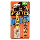 Gorilla Super Glue Brush & Nozzle, 12 g, Clear